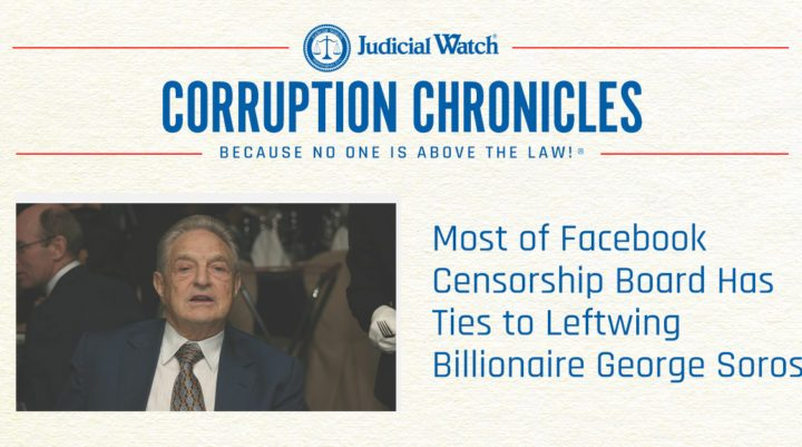 Facebook Censors & George Soros