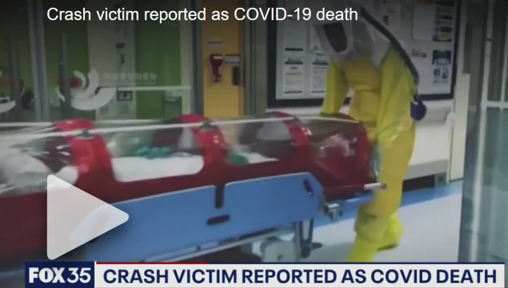 Crash Victim - Coronavirus